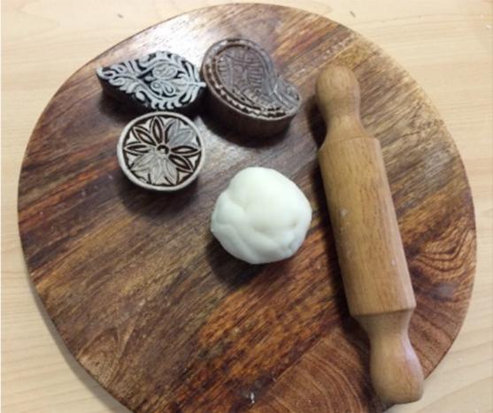 Salt dough decorations